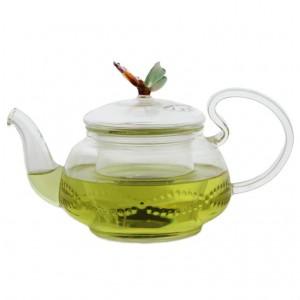 Чайник с бабочкой