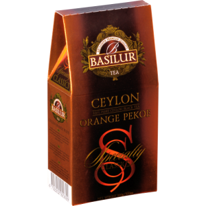"Чай Basilur ИЗБРАННАЯ КЛАССИКА ""Цейлон Орандж Пекое/Ceylon Orange Pekoe"" 100гр"