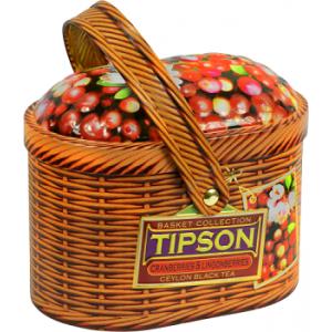 Чай Tipson Лукошко-Клюква и Брусника/Basket-Cranberries and Lingonberries 100 г