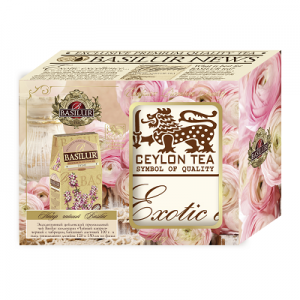 Чайный набор BASILUR «Чай и плед BASILUR» 75гр