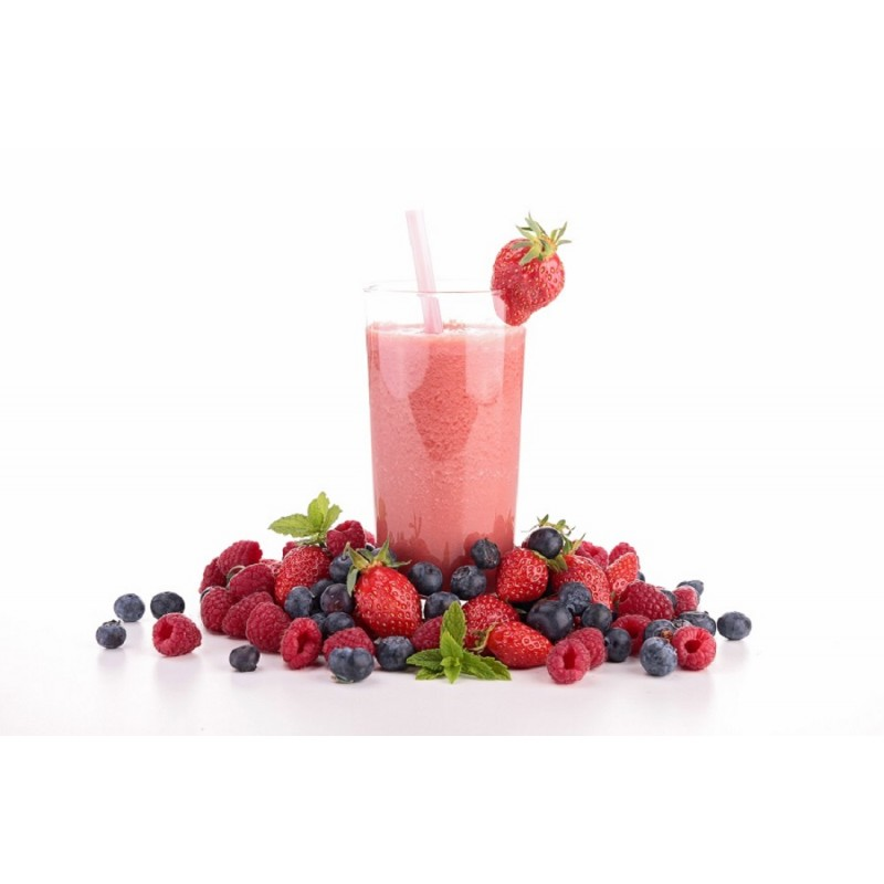 Как сделать коктейль из ягод